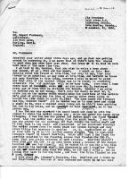 November 10 1966 James Troutman Letter  to Rupert Furneaux