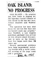 OakIsland-No-Progress-Dec-16-1965-Uknown