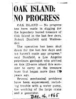 OakIsland-No-Progress-Dec-16-1965-Uknown