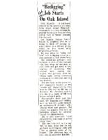 Redigging-Job-Starts-On-Oak-Island-Feb-11-1966-Unknown