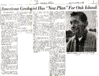 The-Chronical-Herald-Oct-2-1965-American-Geologist-Has-New-Plan-For-Oak-Island