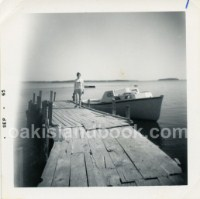 Bobby - former wife of James Troutman at the time and Bill Sawler's Boat To Oak Island